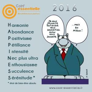 9 vœux de communication pour 2016